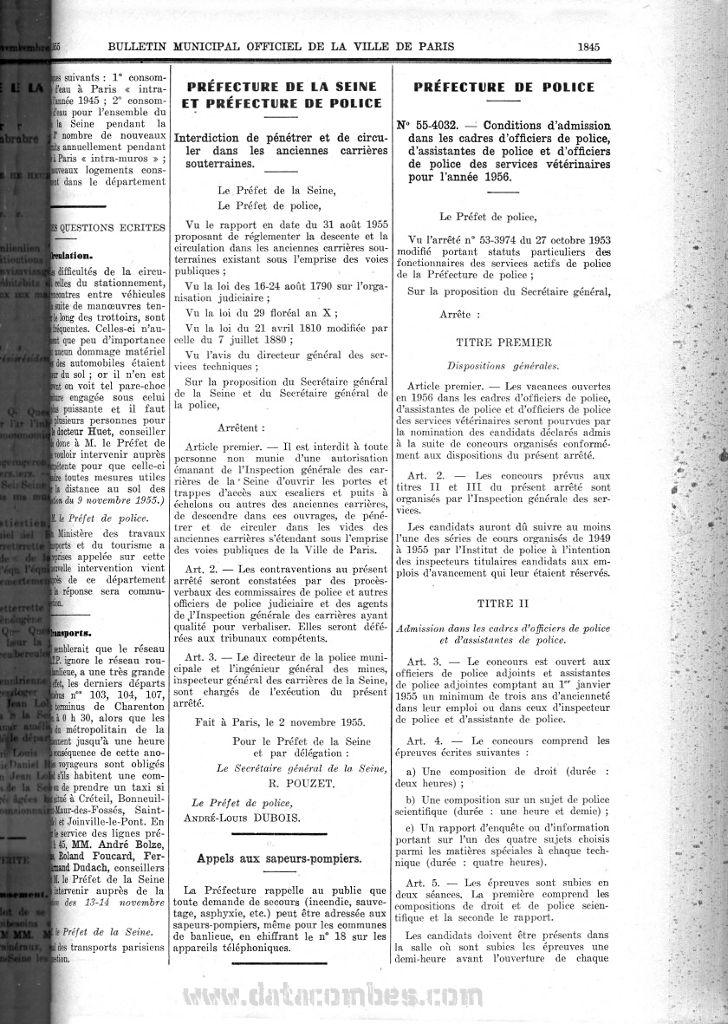 Bulletin Municipal Ville Paris