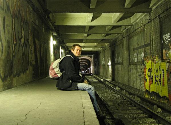 h2o dans le Metro underground